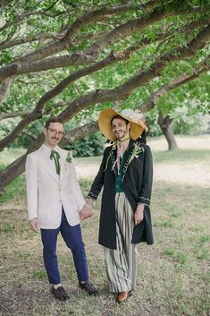 Our $20K Bohemian Vintage Fantasia Queer Wedding | A Practical Wedding