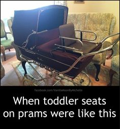 We had this pram too. Remember it had an elasticated plastic cover for the hood when it rained and a broderie anglaise canopy for sun 1980s Childhood, My Childhood Memories, Sweet Memories, Double Strollers, Baby Strollers, Diy Broderie, Vintage Pram, Baby Buggy, Thing 1