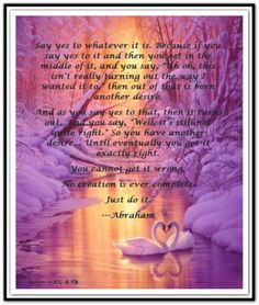 February 15, 2000 *Abraham-Hicks Quotes (AHQ1691)