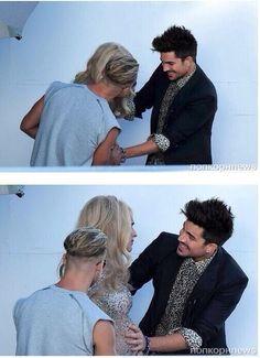 Simply awww :)   Adam Lambert