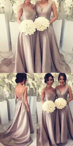 Simple Bridesmaid Dress,Cheap Bridesmaid Dresses,Hot-sale Bridesmaid Dresses, V-neck Bridesmaid Dress, Shop plus-sized prom dresses for curvy figures and plus-size party dresses. Ball gowns for prom in plus sizes and short plus-sized prom dresses for Silver Bridesmaid Dresses, Wedding Bridesmaids, Wedding Party Dresses, Wedding Attire, Prom Dresses 2017, Dresses Dresses, Evening Dresses, Dress Prom, Marie