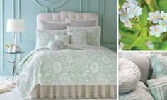 For Bella - Mint Green Bedding by Dena Home