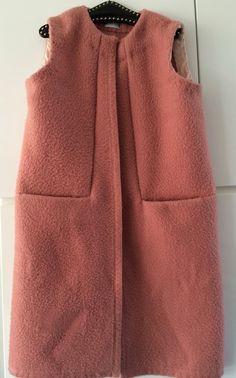 Handmade dekenjas blanketcoat cardigan long waistcoat blanket,  size M L door MORETHANVINTAGENL op Etsy