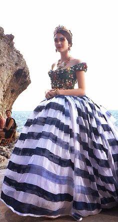 Dolce Dabbana Alta moda,Capri. Just wonderful, love the beading. TG
