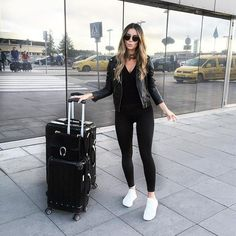 Travel outfit cold to warm airport style 19 ideas for 2019 – travel outfit plane Cruise Outfits, Airport Travel Outfits, Winter Travel Outfit, Airport Style, Fall Outfits, Fashion Outfits, Traveling Outfits, Summer Travel, Summer Outfits