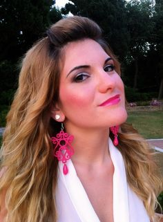 Fucsia Earrings!