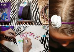Rock Star Themed Party Crafts