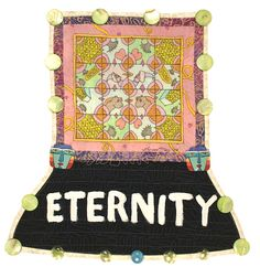 Eternity is forever; it's infinity; no beginning and no end. Eternity is like love; it's an energy that heals. When I breathe in, I breathe in love and eternity. I feel the energy of the Universe.