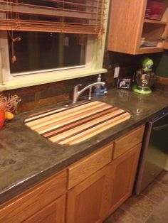 Charming Cutting Board To Fit Over Under Mount Sink.