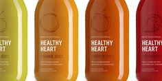 Healthy Heart Juice  - The Dieline - interesting simplicity, but overall lands kind of flat.