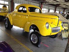 '41 Willys Gasser #yellow