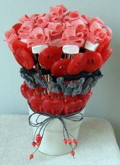 Centro de chuches - Candy bouquet - Buffet de dulces
