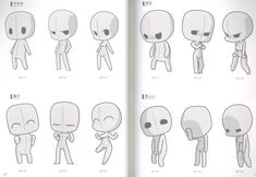 Timeless Advices How To Draw Chibi Poses 2019 Book Drawing, Drawing Base, Drawing Lessons, Manga Drawing, Figure Drawing, Chibi Manga, Naruto Chibi, Chibi Cat, Bts Chibi