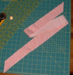 This tutorial is for binding a quilt with straight edges using binding strips cut on the straight grain from your own fabric (not purchased ...