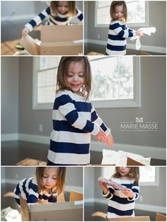Documenting a Surprise Through Photos | Fun Activities for Kids: Popcorn Maker  http://www.mariemasse.com #mariemasse