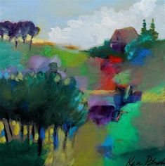 "Daily Paintworks - ""A Little Spot of My Own"" - Original Fine Art for Sale - © Kerri Blackman"