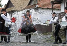 Easter Tradition: on Hungary Easter Activities For Kids, Hungarian Girls, Easter Monday, Heart Of Europe, Family Roots, Easter Traditions, Folk Dance, Lany, Folk Costume