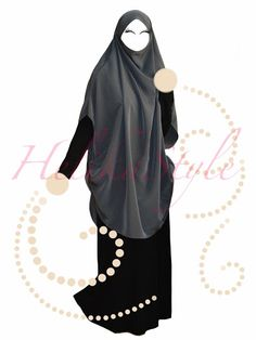 HelikaStyle Khimar-kaftan. Very comfortable model. Photo for inspiration! Sew with me!