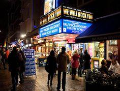Catch a show. Theatreland, London by llamnudds, via Flickr