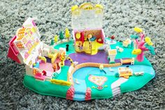 "Polly Pocket vintage de 1996 ""Polly's Boutique"""
