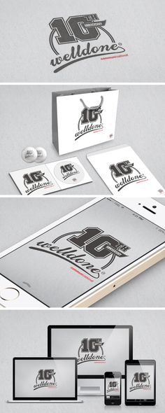 Welldone Comm. 10th Anniversary Visual Identity