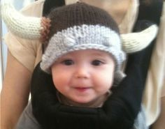 The Viking Beanie Hat for babies.