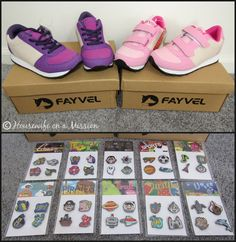 Housewife on a Mission: Customizable Kids Shoes from Fayvel Fall Shoes, Housewife, Giveaways, Balenciaga, Homes, Animal, Sneakers, Kids, Tennis