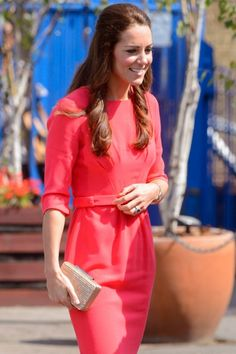 Kate Middleton, The Duchess of Cambridge, Wearing Goat Dress | Marie Claire