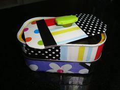 Made by Samy: DIY - Porta objetos com lata de sardinha  Olá pess...