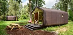 Tiny house built of cardboard? Wikkelhouse makes it work  - Curbedclockmenumore-arrownoyes : It looks better than it sounds