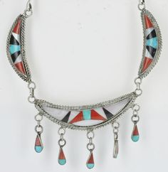Vintage Native American Sterling Silver Twisted Rope by BlueBisbee $149.99