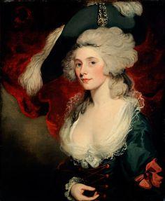 Fashion Icon and Actress Mary Robinson as Perdita (1782) by John Hoppner.