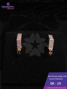 Kainat fashion Imitation #Earrings  PKR:1200 / USD:$12 ☛0322-3504542 #Earring #JewelryLover #Elegant