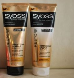 SYOSS Tiefe-Repair-Haarbad & Balsam im Set 5€