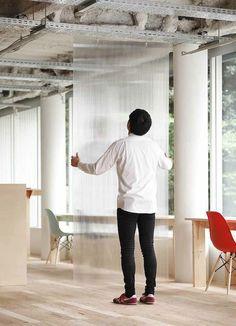 Conformément à la philosophie de l'entreprise, Nosigner a imaginé un «bureau open source».