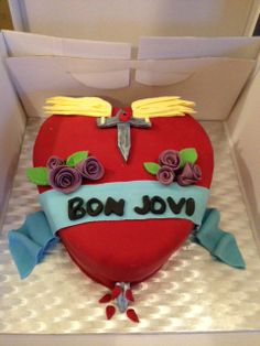 Bon Jovi Birthday Cake