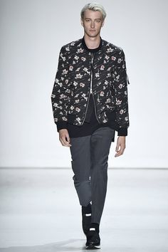 A look from the Ovadia & Sons Spring 2016 Menswear collection.