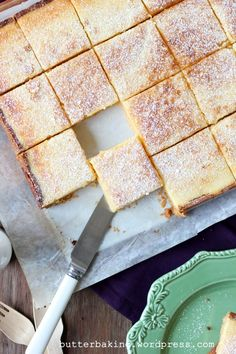 lemon bars by butter