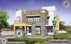 Best Small Modern House Designs | 80+ Double Storey Homes Designs Best Small House Designs, Best Modern House Design, Modern House Plans, Beautiful House Plans, Beautiful Small Homes, Small Modern Home, Modern Houses Pictures, House Plans With Pictures, Home Design Images