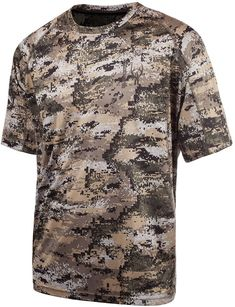 98c6cf65842a92 Huntworth Men s Lightweight Camo T-Shirt