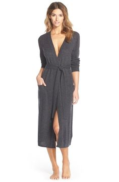 Nordstrom Lingerie Cashmere Robe available at #Nordstrom