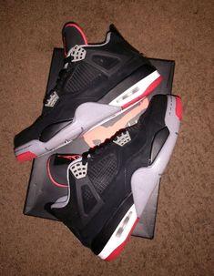 best website f1ccc a478a Air Jordan IV retro 4 Black Cement 2012 Size 9 BRED No reserve!  fashion