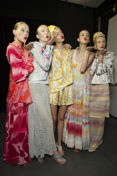 Spring/Summer 2015: Backstage Diary