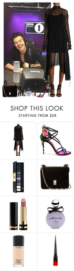 """Harry Styles #146"" by ambere3love34 ❤ liked on Polyvore featuring Magda Butrym, Dolce&Gabbana, Valentino, Gucci, Kate Spade, MAC Cosmetics and Christian Louboutin"