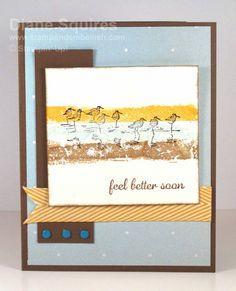 Masculine Get Well Card - www.stampandembellish.com