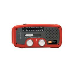 Etón FR160R Microlink Self-Powered AM/FM/NOAA Weather Radio with Flashlight, Solar Power and Cell Phone Charger & FREE MINI TOOL BOX (fs) . $179.99