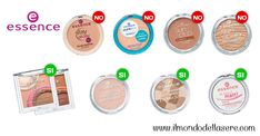 Essence: prodotti con buoni inci - CIPRIE e TERRE   Prodotti con buoni inci   Make up   Cura del corpo
