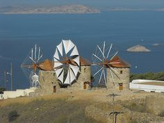 Windmills - The Greek Islands Paradise....