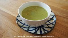 My Little ROCK – Reliable Organised Cooking Kitchen –Pea and Basil Pesto Soup– This is pea and basil pesto soup comes from the great Nigella Lawson. It only uses a few ingredien…