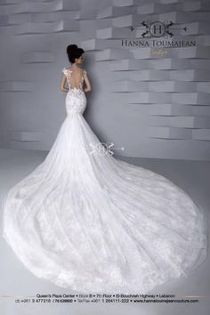Hanna Toumajean Couture- Lebanese Wedding Dress